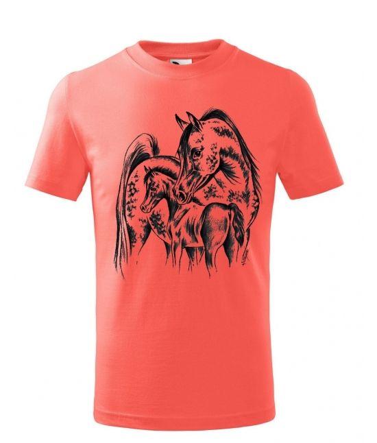 Dětské tričko - Klisna s...