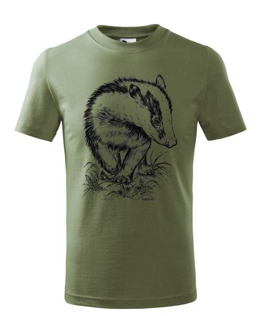 Dětské tričko - Jezevec