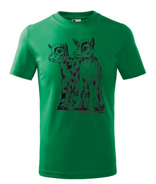 Dětské tričko -Kůzlata
