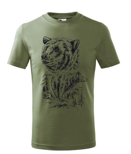 Dětské tričko - Medvědí...