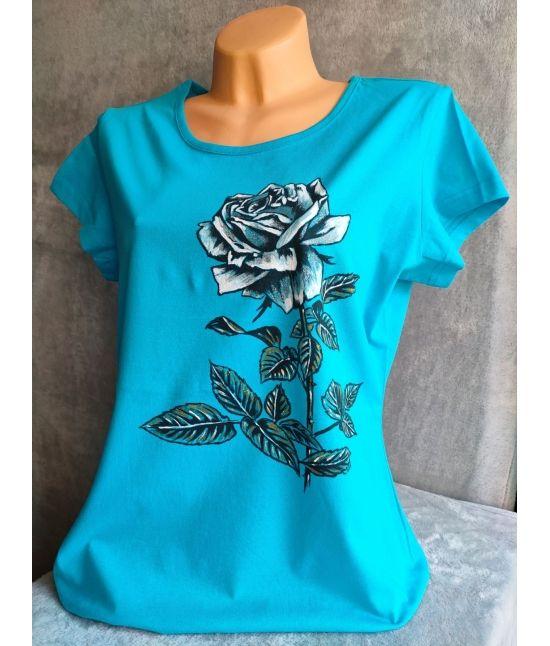 Dámské tričko - Růže z lásky
