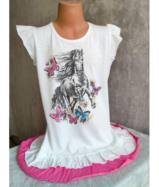 Dětské šaty - Frís,motýli