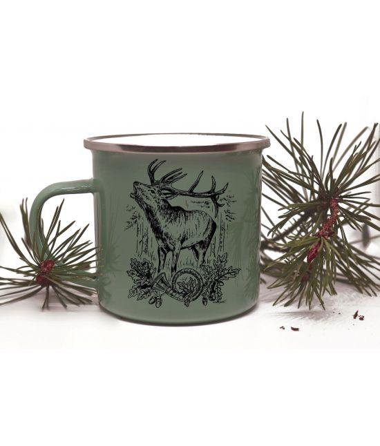 Plecháček - Troubící jelen