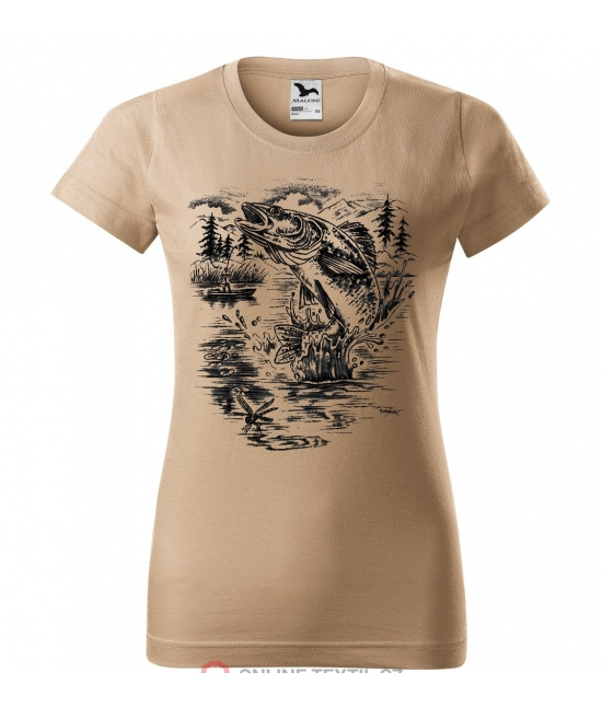 Dámské tričko - Candát