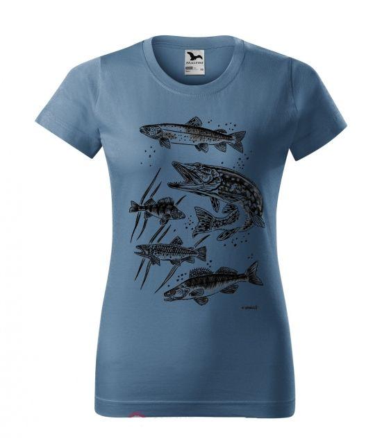 Dámské tričko - Dravci