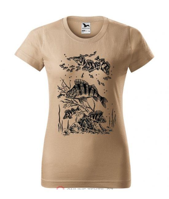 Dámské tričko - Okoun