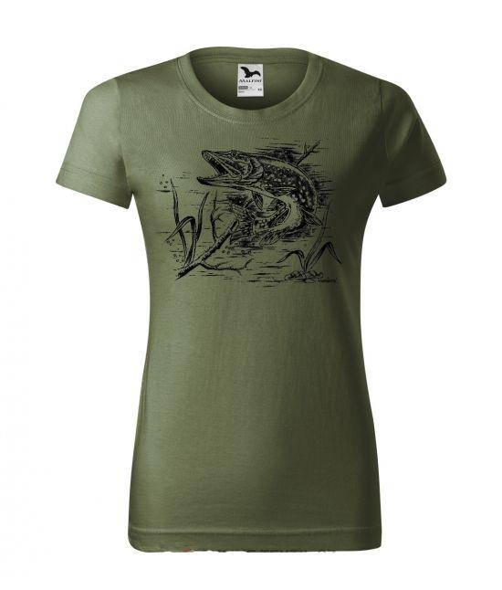 Dámské tričko - Štika