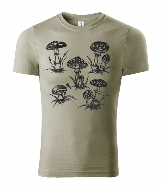 Pánské tričko - Mochomůrky