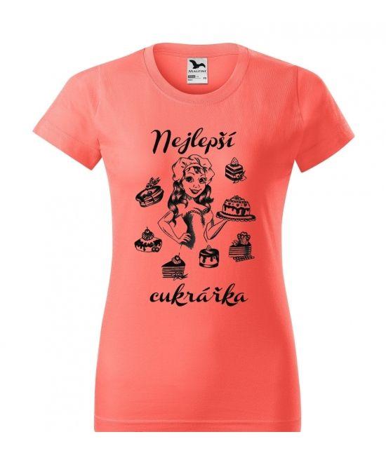 Dámské tričko - Cukrářka