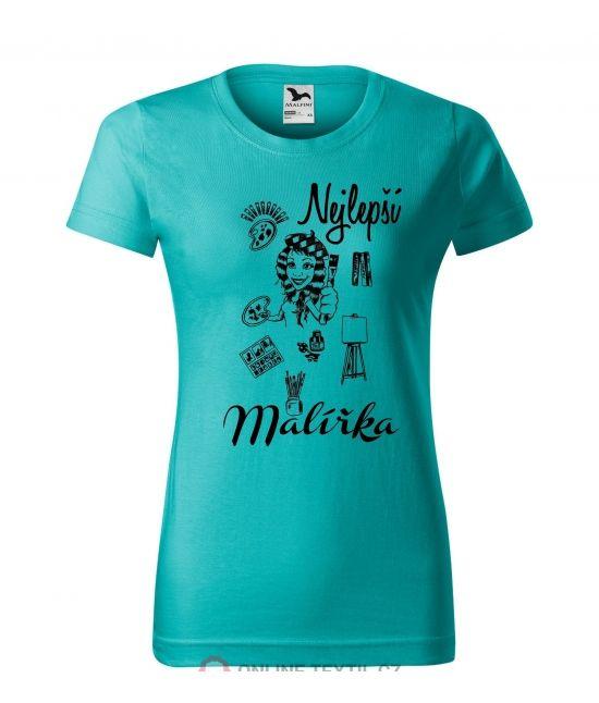 Dámské tričko - Malířka