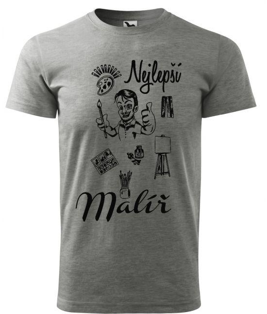 Pánské tričko - Malíř
